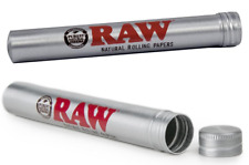 RAW Aluminum King Size 109MM - 2 TUBES - Cone Blunt Cigar J DOOB Holder Smell