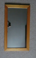 Wall Mirror Natural Wooden Frame