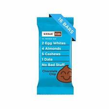 RxBar Kids Bar | 7g Protein, Whole Food, Gluten Free | Chocolate Chip, 32 Bars