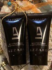 Azzaro Pour Homme 2 x 50ml Shower Gels u b NEW Men 100% Authentic Original