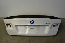 BMW E92 M3 Coupe Trunk W/ Performance Carbon Fiber Lip 3 Series Oem 2008-2013