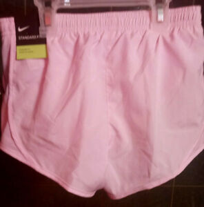 Nike Dry Girls Running Shorts Pink Size Small New w/Tag