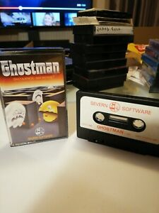 Ghost man Game For Oric Computer