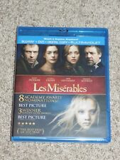 Les Misérables (Blu-ray/DVD, 2013, 2-Disc Set, Includes Digital Copy UltraViolet