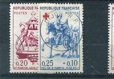 Timbre/Stamp - France -  N° 1278  - 1279  Oblitérés  - 1960 - TTB - Cote:  8 €