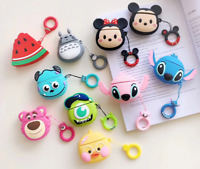 Cute 3D Cartoon AirPods Silicone Case Protective Cover For Apple AirPod 2 / 1