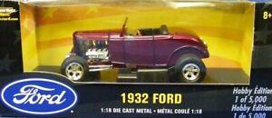 Ertl 36765-1 Ford 1932 Street Rod - Purple 1/18 Die-cast MIB