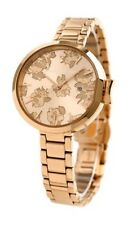NEW KATE SPADE Park Row Watch Coming Up Roses Rose Gold Womens KSW1397 $225