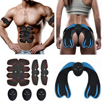 Smart Abdominal Muscle Trainer Stimulator EMS Hip Buttocks Lifting Training ABS