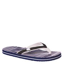 Animal Swish Slim up Ladies Flip Flops in Blue UK 5 5054569601630