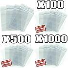 Sachet, pochette ou sac ZIP en plastique Transparent PLUSIEURS FORMATS <br/> Qualité professionnelle 50 microns + Prix bas garanti
