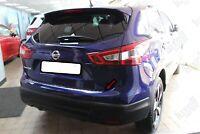 Fits Nissan Qashqai J11 2013-2016 Chrome Rear Bumper Protector Guard S.Steel