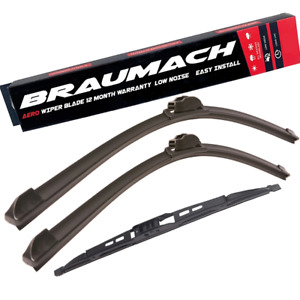 Front Rear Wiper Blades for Volvo 850 LW Wagon 2.3 T5-R 1995-1996