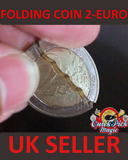 Coin in the Bottle 2 Euro Folding Coin 2 Euro Coin Magic Trick / Close up Magic