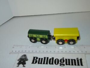 Battat Wild Ridge Wood Train Replacement Lot of 2 Magnet Train Parts Only Toy