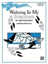Waltzing in My Sneakers (for right hand alone) Piano Learn to Play SHEET MUSIC