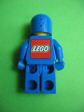 Vieja lego llavero personaje Classic Space astronauta, azul 80er años
