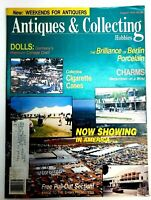 Antiques & Collecting Hobbies Magazine Vintage August 1991 Dolls Cigarette Cases