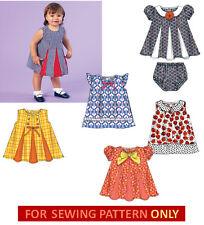 SEWING PATTERN!  MAKE BABY GIRL SUMMER DRESS~SUNDRESS~PANTIES! NEWBORN~XLARGE!