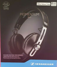 Sennheiser Momentum M2 AEi Black Wired Headphones *CIRCUMAURAL* Open Box Unused