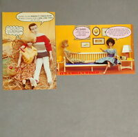 Barbie 1980s Postcard Lot of 2 4x6 #02 Ken Furniture Hay