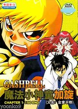 DVD Anime Konjiki no Gash Bell!! Complete TV Series 1-150 End TVB Cantonese Ver
