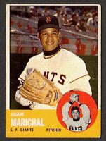 1963 Topps Baseball #440 Juan Marichal San Francisco Giants - 5th Series