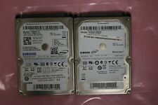 "Lot of 2 Samsung 2.5"" Laptop SATA Hard Drives 640GB 5400rpm HM641JI / ST640LM000"