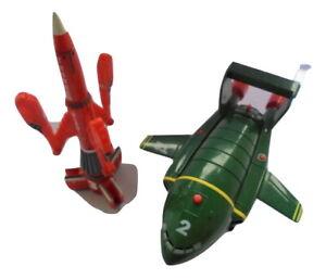 """Thinderbirds 6"""" Talking & sound effects 2 & 3 spacecraft rocket"""