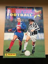 100% complete European Football Stars 1996 - EURO  PANINI Sticker ALBUM