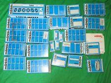 Lot Marklin HO Catenary Mast bridge & pier  BOXES ONLY + 1 mast & instructions