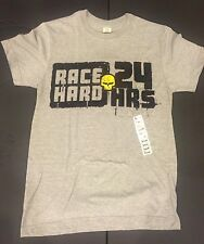 "Corvette Racing ""RACE HARD 24 HRS"" Jake Skull Back, SMALL, NWT, FREE SHIPPING!"