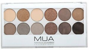 MUA UNDRESS ME TOO EYESHADOW PALETTE 12 COOL SHADES NEW & SEALED £2.99 FREE POST