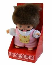 BEBICHHICHI BABY Girl Kitty Cat Sekiguchi Monchhichi Monkey Doll - SALE!