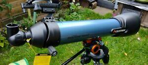 Celestron Inspire 100AZ 100mm f/6.6 Alt-Az Refractor Telescope - Blue