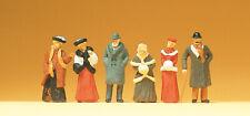 Preiser 12197 Passanten in winterlicher Kleidung, H0