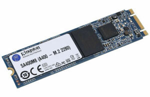 Kingston A400 M.2 SATA SSD 240GB | Speeds Of Up To 500Mb/s