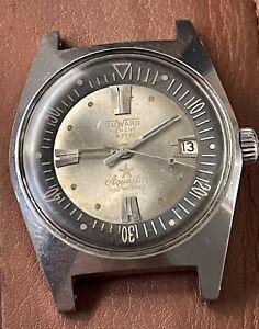 Vintage Watch Diver Aquastar 63 20 Atm   25 Mc Rare