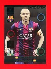 CHAMPIONS LEAGUE 2014-15 Panini - Card Limited edition - INIESTA - BARCELONA