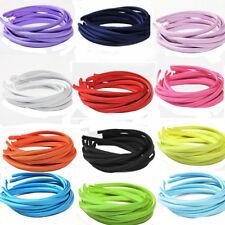 HAARREIF Satin Haarband   Auswahl 1x oder 10 x Farben  HAARSCHMUCK (N)