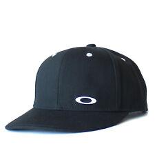 Oaklay Essential Flat Brim Cap 14.0 FW Mens Casual Snapback Golf Baseball Hat Bk