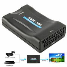 1080P Scart zu HDMI Konverter Adapter HD TV Wandler Converter