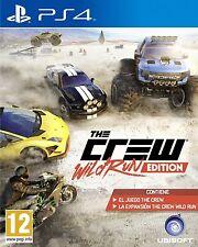 THE CREW WILD RUN EDITION EN CASTELLANO NUEVO PRECINTADO PS4