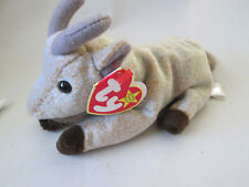 BORN Nov 4, 1998 Ty Original Beanie Babies GOATEE GOAT #04235 NEW! (Tag 1999)
