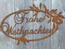MEIN PARADIES Schild 85x110cm Gartenstecker Beetstecker Rost Edelrost Metall