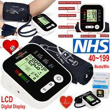 2018 Digital Upper Arm Blood Pressure Monitor Best Intellisense 99 Memory UK