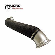 "Diamond Eye 321056  3"" Aluminized Turbo Direct Pipe 04-10 Chevy/GMC 6.6L"