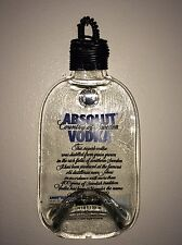 Absolute Vodka Melted Glass Bottle Wall Hanger-100% Recycled !!