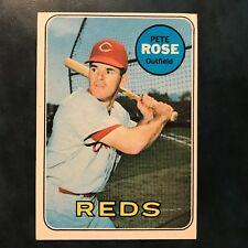 1969 Topps Set PETE ROSE #120 CINCINNATI REDS - EX-MINT *HIGH GRADE*