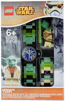 Lego Yoda Star War Buildable Watch 8020295